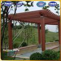 De alta calidad al aire libre jardín mirador, wpc gazebo, wpc pergola