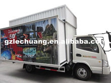 truck mobile electric 5d 7d cinema with 6 DOF