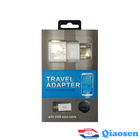 USB Cable And Charger 2 in 1 Kit Phone Cable For Samsung Galaxy S4 S3 S2 Mobile Phone