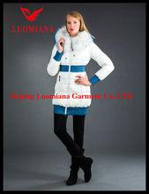 latest fashion front drape autumn women jacket design in china 2014