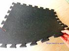 Plastic shock resistance sound absorption rubber flooring