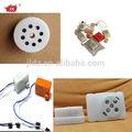 mini plaza de sonido de los animales y la melodía de la caja para juguetes de peluche o caja de papel de alibaba express