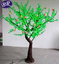 2268 led H: 3m Christmas decorate peach tree
