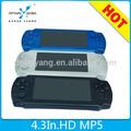 Handheld del juego del jugador mp4 reproductor de juegos pmp mp5 reproductor digital