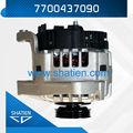New generador, Alternador de coche oem, Eléctrica del generador del dínamo, Renault piezas, 7700437090, Ca1976ir