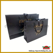 paper shopping gift bags,fashion paper shopping bags with flower