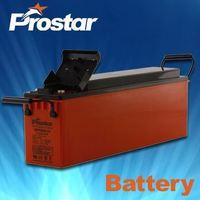 12V 80AH Long Life Front Terminals Gel Sealed Lead Acid Solar Battery For UPS