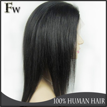 2014 Best selling lace front wig indian remy