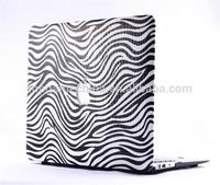 """Zebra Pattern Custom Hard Case for Tablet Macbook Pro 13"""" shell cover"""