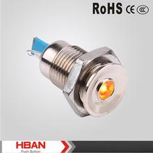 CE ROHS HBGQ12C-D/J/N 12mm signal lamp
