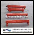 De simple efecto hidráulico del cilindro de acero para excavadora brazo/cargadora de ruedas