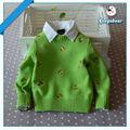 verde ingrosso personalizzare i bambini maglione ragazzi vestiti