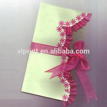 Papel impreso elegante de la boda hechos a mano de la