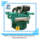 4 Stroke Small Diesel Engine 550kW V12 Made in China