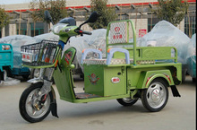 Electric adult tricycle used in open style from china