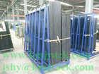 storage rack frame for glass storage