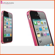Love Mei 0.7mm Ultra Thin Cellphone Bumper Case For iPhone 4s 4 Aluminum Metal Bumper Case