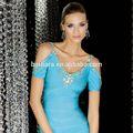 moda İtalyan tasarım Abiye pencial elbise