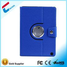 Blue Smart Sleep awake case for ipad air ,360 rotating Case for ipad 5