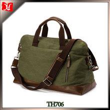 Wholesale cheap waterproof waxed military duffle bag men sports canvas duffle bag