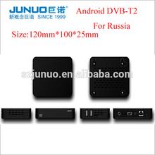 2014 New Digital Smart TV Android dvb-t2 set top box russia