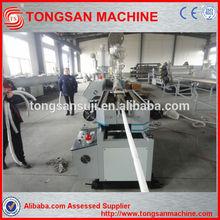 PA/pp/pe/pvc single wall corrugated pipe machine qingdao tongsan