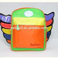 2015 New Style Cartoon Children Hnadbag Polyester Kids Backpack Cute Baby Bags Infant School Bag For Child BA40830-11