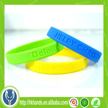 Sound Activated LED Wristbands Bracelet With Customized Logo For Promotional Gift, Party Cheer Favors