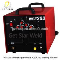 WSE-200 Digital display multifunctional welder machine AC DC inverter tig mma welding equipment