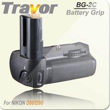 Travor Professional Replacement Of MB-D80 For NIKON D80 D90 Battery Grip