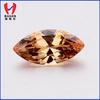 10x5mm Marquise Cut Champange Fashion Stone Chinese Gemstone Manufacture