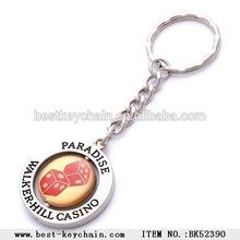 metal custom souvenir Walker-hill Casino keychain