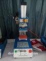 8x10cm minni pneumática da imprensa do calor, máquina de etiquetas para roupas