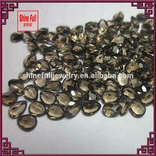 loose natural smoky quartz gemstones