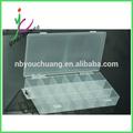 2014 vários materiais multi- efeitos conveniente econômico caixa de plástico transparente
