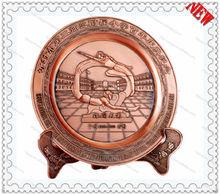 metal plate award /school Memorial /metal plate for souvenir