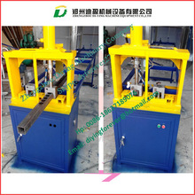 Small model tube punch machine/ Square tubes punching machine/ tube drilling machine with square hole for window making