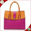 handbag logo metal plate newest pictures lady fashion handbag