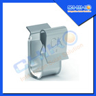 aluminum solar pv mounting cable clip