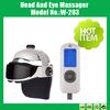 2014 Hot Sale electric vibrating head&eye massage machine with MP3 Music