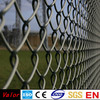 Chain Link fence used for garden fencing and animal fencing made from galvanized chain link mesh and pvc coated chain link mesh