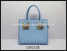 baby blue elegance women's handbag