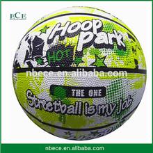 Hot sell soft rubber basketball cheap rubber basketball