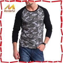 Factory designing long tee for men/2014 autumn mens long sleeve t shirt