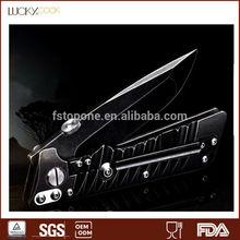 stainless steel combat knife back lock knife