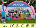 X- glooinflable al aire libre tienda de campaña,inflable barra para casa, edificioinflable