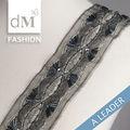 venta al por mayor de china a medida de la cinta de seda diseños de bordado