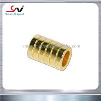 Industrial good quality permanent magnet neodymium for golden motor