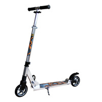 HOT!!! two big wheel Decathlon town 7 adult urban kick foot scooter with 145mm PU wheel
