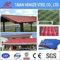 Alibaba China Galvanized Color Roofing Sheet Light Steel Structure